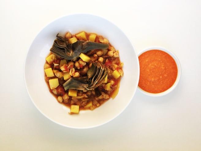 chickpea bouillabaisse