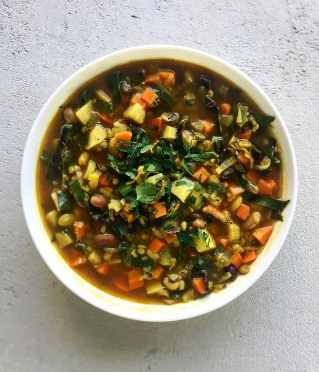 Paris Bistro Soup | veganblonde.com