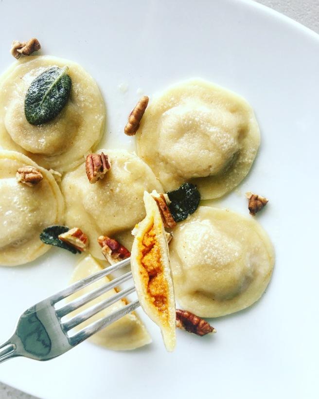 Sweet and tasty, butterkin squash is a cross between a pumpkin and a butternut squash.