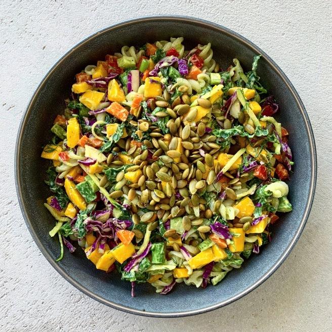 Quinoa Pasta Salad | livitygardens.com